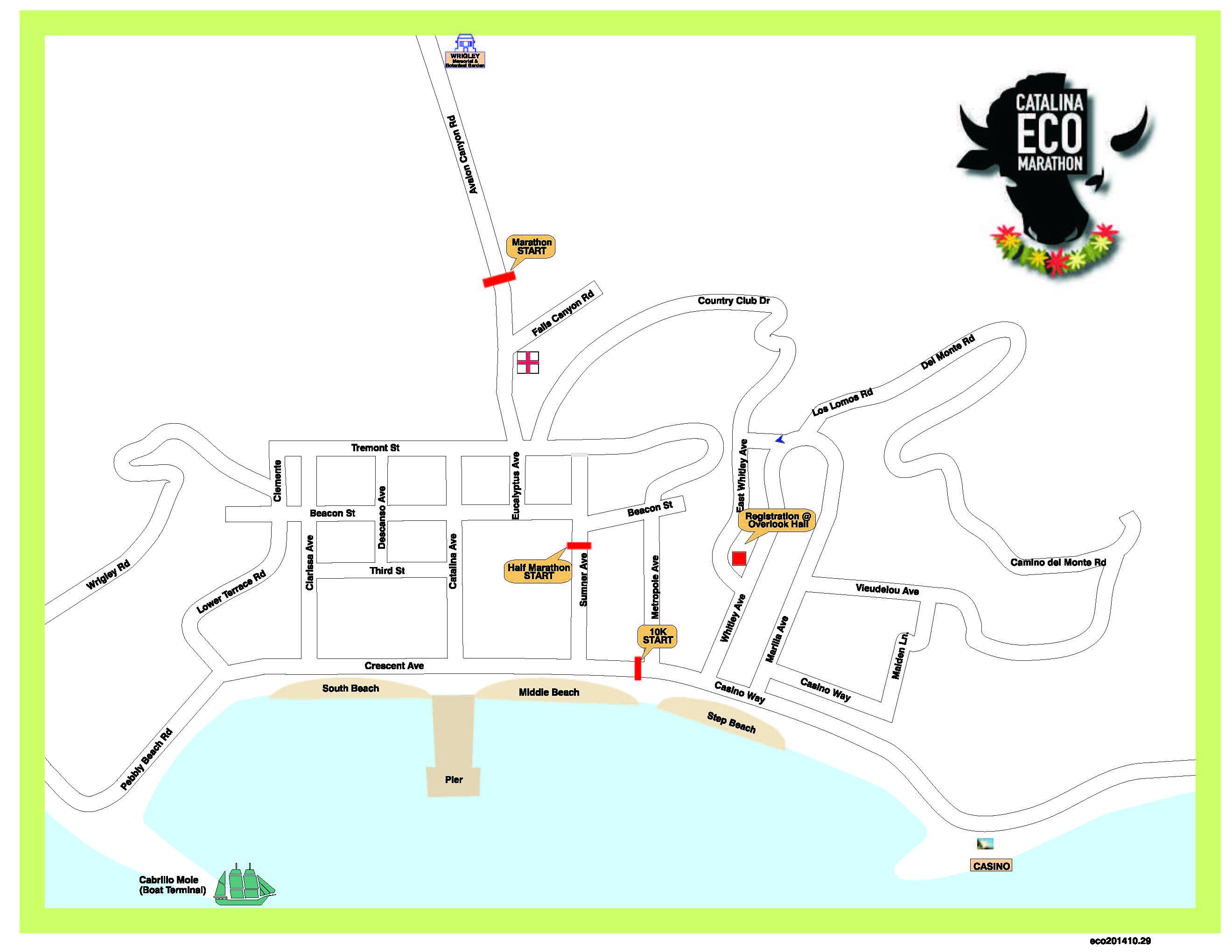 startline map