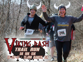 Viking Dash Trail Run Tejon Ranch
